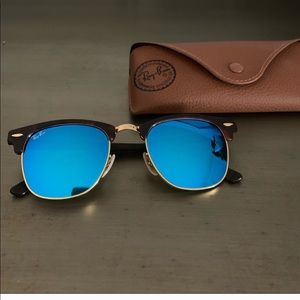 Ray -Ban Blue Flash Clubmaster